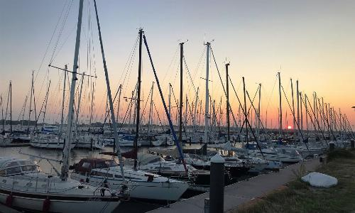 Lage am Jachthafen