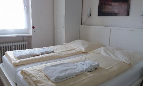 separates Schlafzimmer